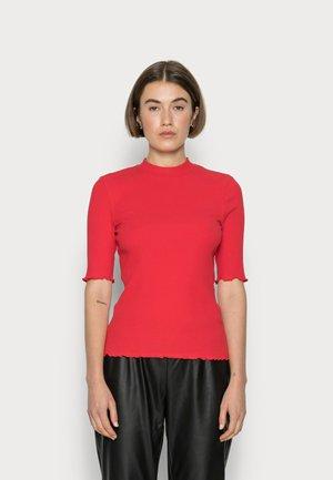 SLFANNA CREW NECK TEE - T-shirt basic - true red