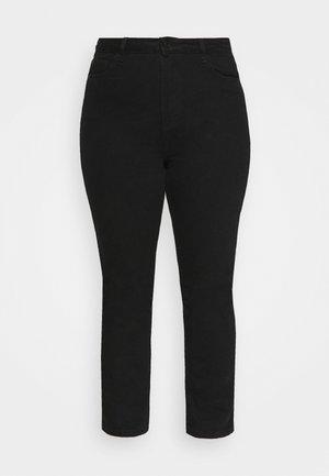 WRATH HIGH WAISTED - Slim fit jeans - black