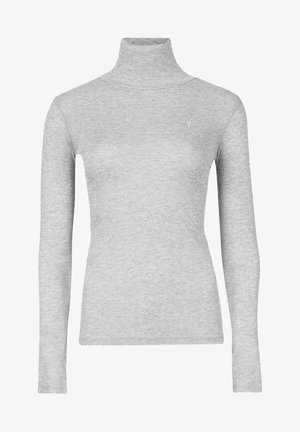 FRANCESCO ROLL NECK - Camiseta de manga larga - grey