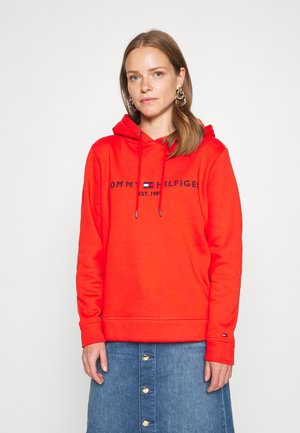 HOODIE - Hoodie - oxidized orange