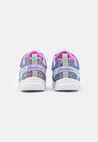 Skechers - GLIMMER KICKS - Trainers - lavender rock glitter/aqua/pink - 2