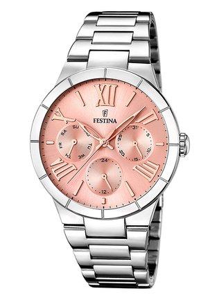 Watch - pink/silberfarben