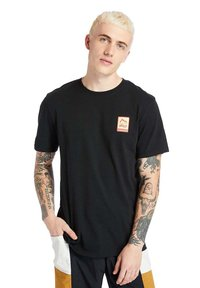 Timberland - OUTDOOR ARCHIVE GRAPHIC - Print T-shirt - black - 2