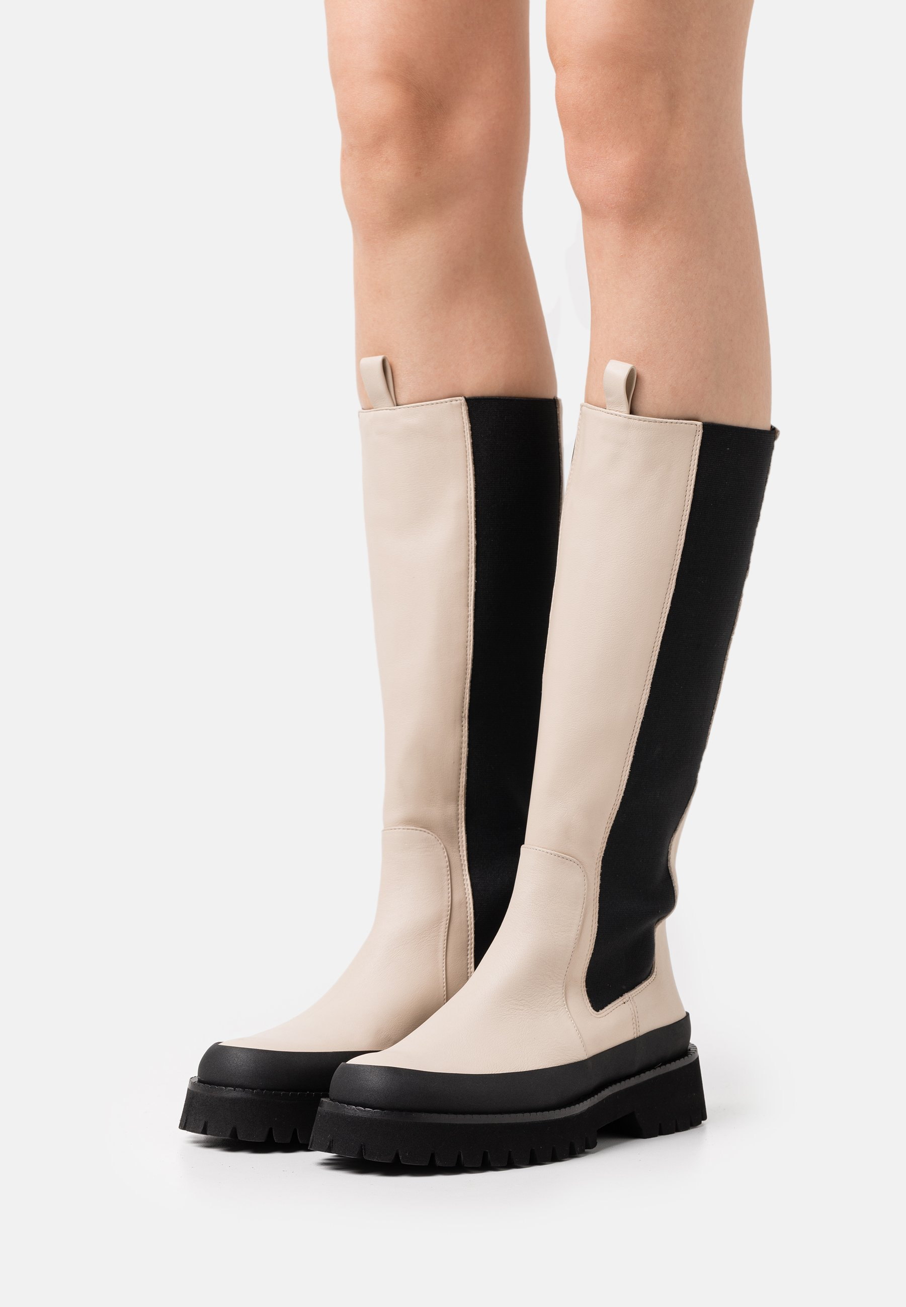 Women CAMILA - Platform boots - ivory
