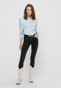 ONLY - Button-down blouse - cashmere blue - 1