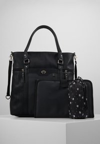 Kidzroom - DIAPERBAG KIDZROOM PRECIOUS - Baby changing bag - black - 8