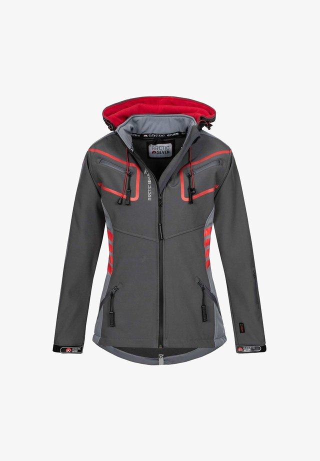 Outdoor jacket - dunkelgrau