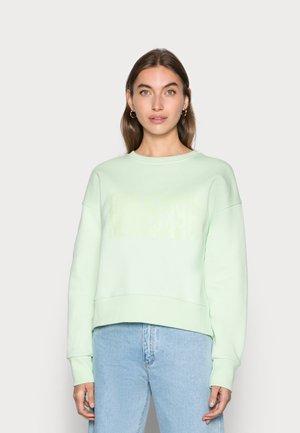 ORGANIC TILVINA - Sweatshirt - pastel green