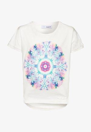 IGUALADA - Print T-shirt - crudo