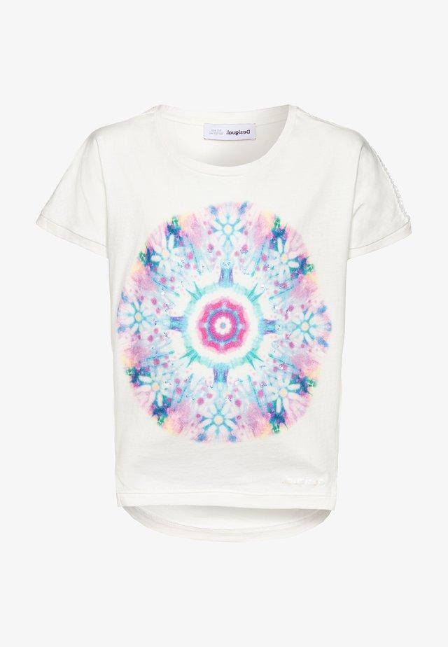 IGUALADA - T-shirt z nadrukiem - crudo
