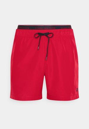 LOGOLINE MEDIUM DRAWSTRING - Swimming shorts - red