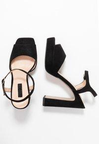 Office - HUSKY - Sandály na vysokém podpatku - black - 3