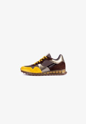 Trainers - brown-mustard