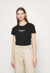 Pepe Jeans - NEW VRIGINIA SHORT SLEEVE 2 PACK - Basic T-shirt - black/white - 3