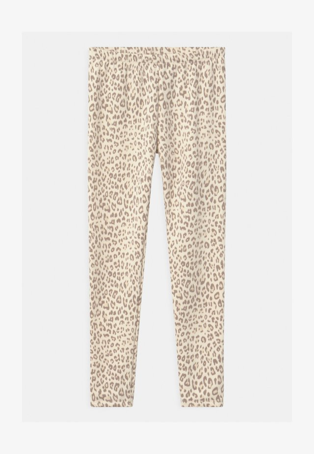 GIRL COZY  - Leggings - Trousers - off-white