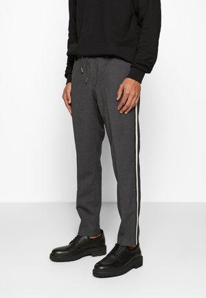 SIDE STRIPE PANTALON COSTUM - Bukse - grey