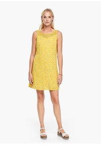 s.Oliver - Day dress - yellow aop mini flowers - 4
