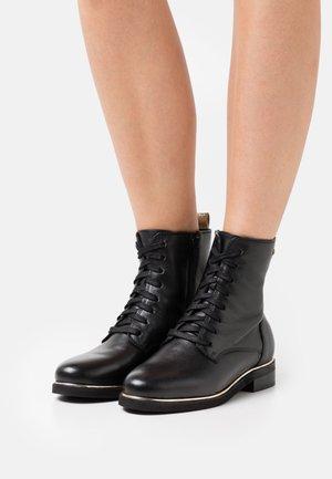 MATHILDE - Lace-up ankle boots - noir