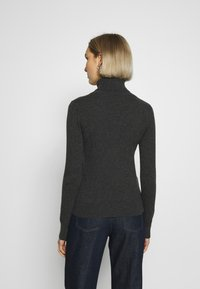 pure cashmere - TURTLENECK - Svetr - graphite - 2