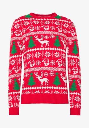 SANTA - Pullover - red