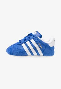 adidas Originals - GAZELLE CRIB - Babyschoenen - collegiate navy/footwear white/gold metallic - 1