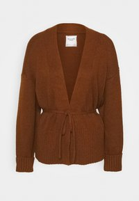 Abercrombie & Fitch - TALL CARDI - Cardigan - brown - 4
