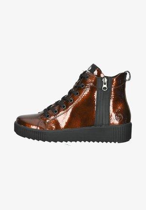 Sneakersy wysokie - antik