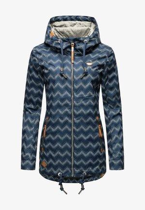 Outdoor jacket - indigo