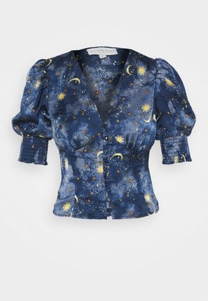 MOON AND STARS SHORTSLEEVE LINDOS - Blouse - navy multi