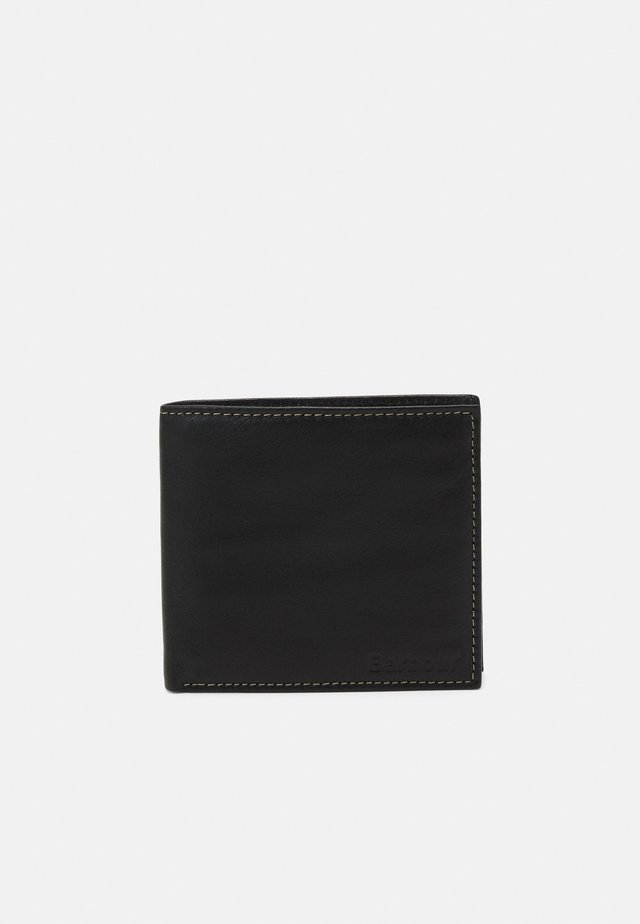 ELVINGTON COIN BILLFOLD UNISEX - Portemonnee - black