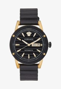 Versace Watches - THEROS AUTOMATIC - Watch - black/gold-coloured - 1