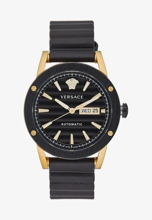 THEROS AUTOMATIC - Montre - black/gold-coloured