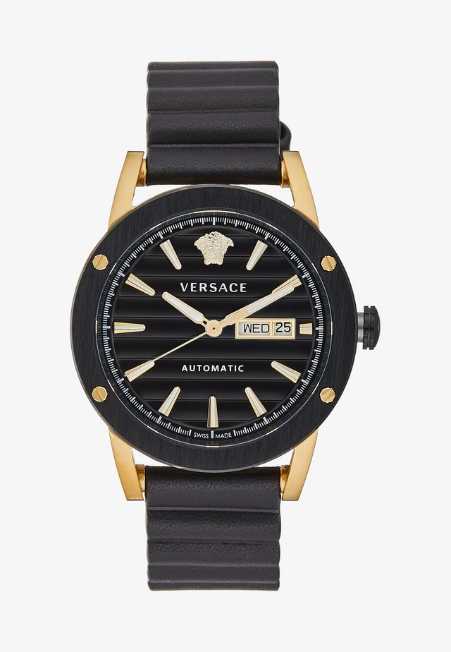 THEROS AUTOMATIC - Watch - black/gold-coloured