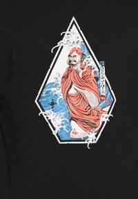 Volcom - NOZAKA SURF - Print T-shirt - black - 5