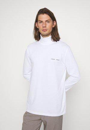 NORSBRO TURTLENECK - Long sleeved top - white