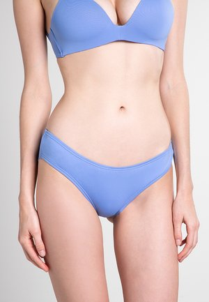 RIVIERA SOLIDS SHIRRED CHEEKY - Braguitas - lagoon
