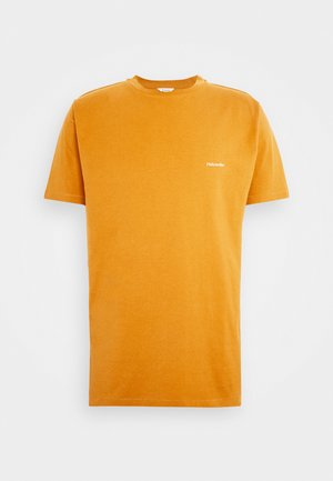 LIVE TEE  - Basic T-shirt - ocher yellow