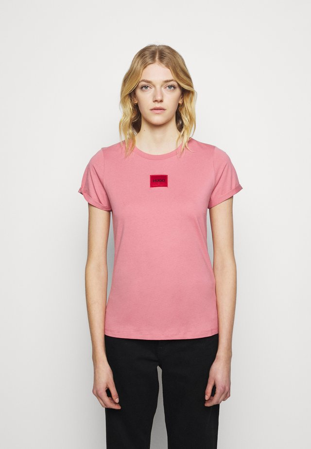 THE SLIM TEE - T-shirt con stampa - rose