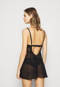 Ann Summers - FIERCLY SEXY BABYDOLL - Negligé - black - 2