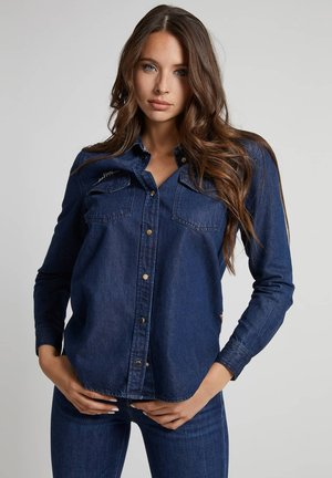 SLIM - Camicia - blau