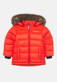Didriksons - DIGORY KIDS - Winter jacket - poppy red - 0