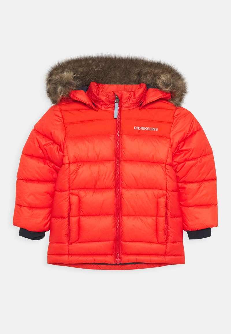 Didriksons - DIGORY KIDS - Winter jacket - poppy red