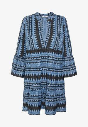ONLNAYA ATHENA DRESS - Denní šaty - black/infinity blue