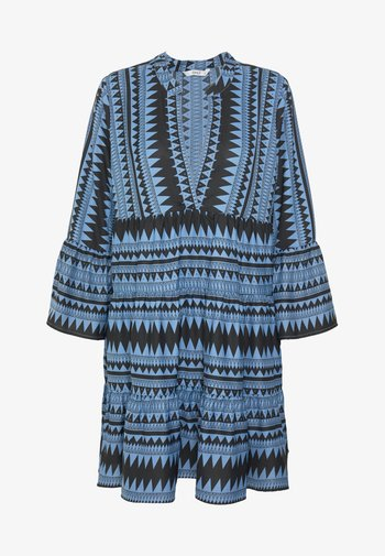 ONLNAYA ATHENA DRESS - Day dress - black/infinity blue