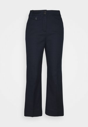 SOLID ANDERSON PANT GRASSCLOTH - Trousers - navy