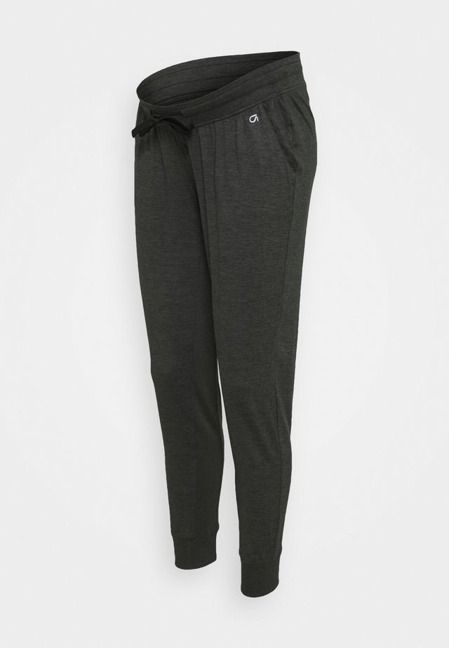 UNDERBELLY MIX - Tracksuit bottoms - true black