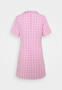 Monki - MAJA DRESS - Shirt dress - pink check - 1