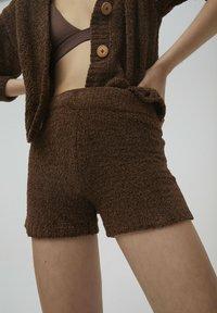 PULL&BEAR - Shorts - brown - 4