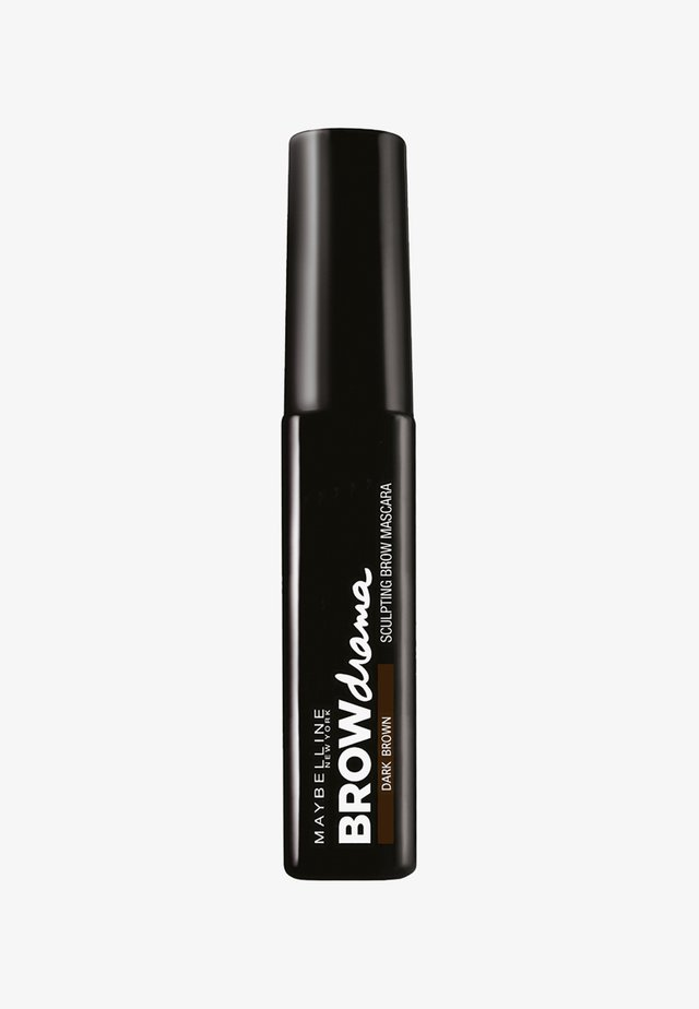 BROW DRAMA AUGENBRAUEN-GEL - Eyebrow gel - dark brown