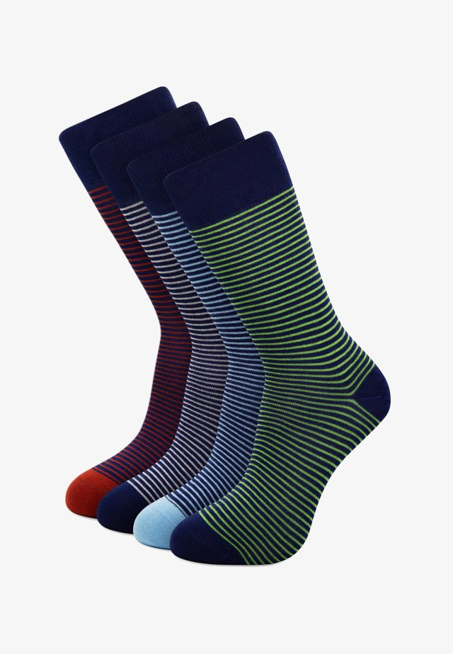 4-PACK GIFTBOX - Socks - blue